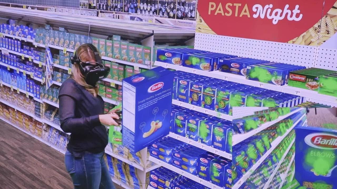 Eye Tracking Integrated With VR Reveals Human Behavior Explorer