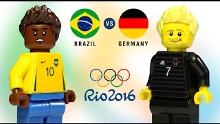 LEGO Rio 2016 BRAZIL - GERMANY Final Soccer