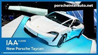 Porsche Taycan - IAA Frankfurt 2019 | Porsche Inter Auto