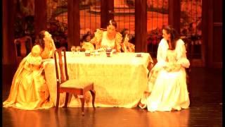 Cimarosa, Il matrimonio segreto - Atto I, - Terzetto - Signora sorellina... Le faccio un inchino...