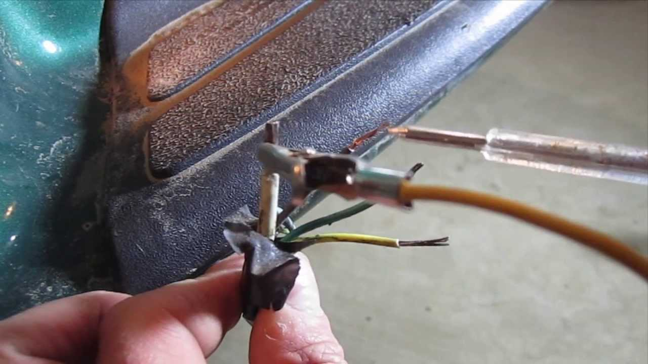 how to test and wire trailer lights using a hopkins 4 flat connector set diy chevy gmc youtube [ 1280 x 720 Pixel ]