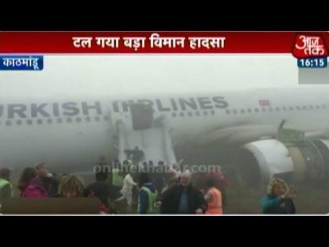 Turkish Airlines Plane Crash-Lands In Kathmandu