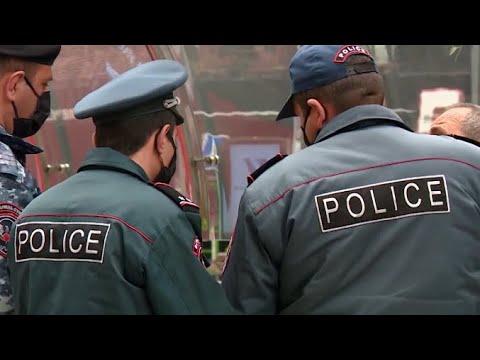 Строгий запрет на передвижение в Армении