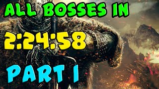 Dark Souls 2 Speedrun - ALL BOSSES in 2:24:58 (with BOTH DLCs) - PART 1