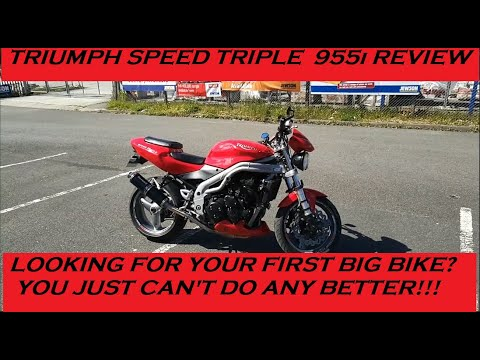 2005 TRIUMPH SPEED TRIPLE 955i REVIEW AND THOUGHTS