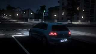 VW Volkswagen Golf 7 - Dynamic Light Assist