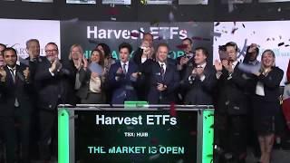 Harvest ETFs opens Toronto Stock Exchange, February 7, 2020