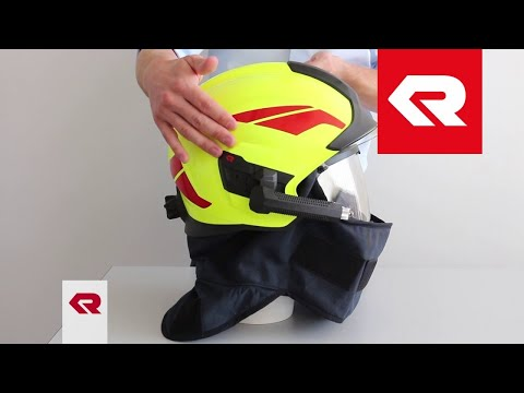 Rosenbauer Feuerwehrhelm HEROS-titan - Rundumnackenschutz