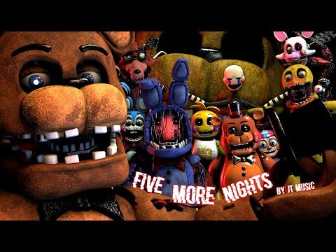 """[FNAF/SFM] """"Five More Nights"""" by JT Music"""