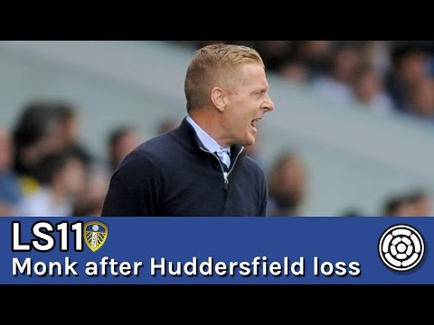 Monk reacts to Leeds' loss to Huddersfield