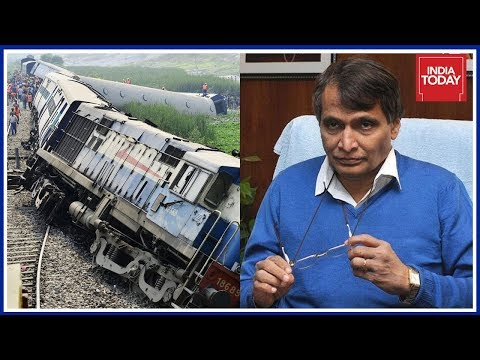 Should Suresh Prabhu Held Accountable For Railway Accidents ? | News Today