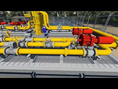 Gas Filter, USM Metering & Regulating System - CP21A (Engineering Design)