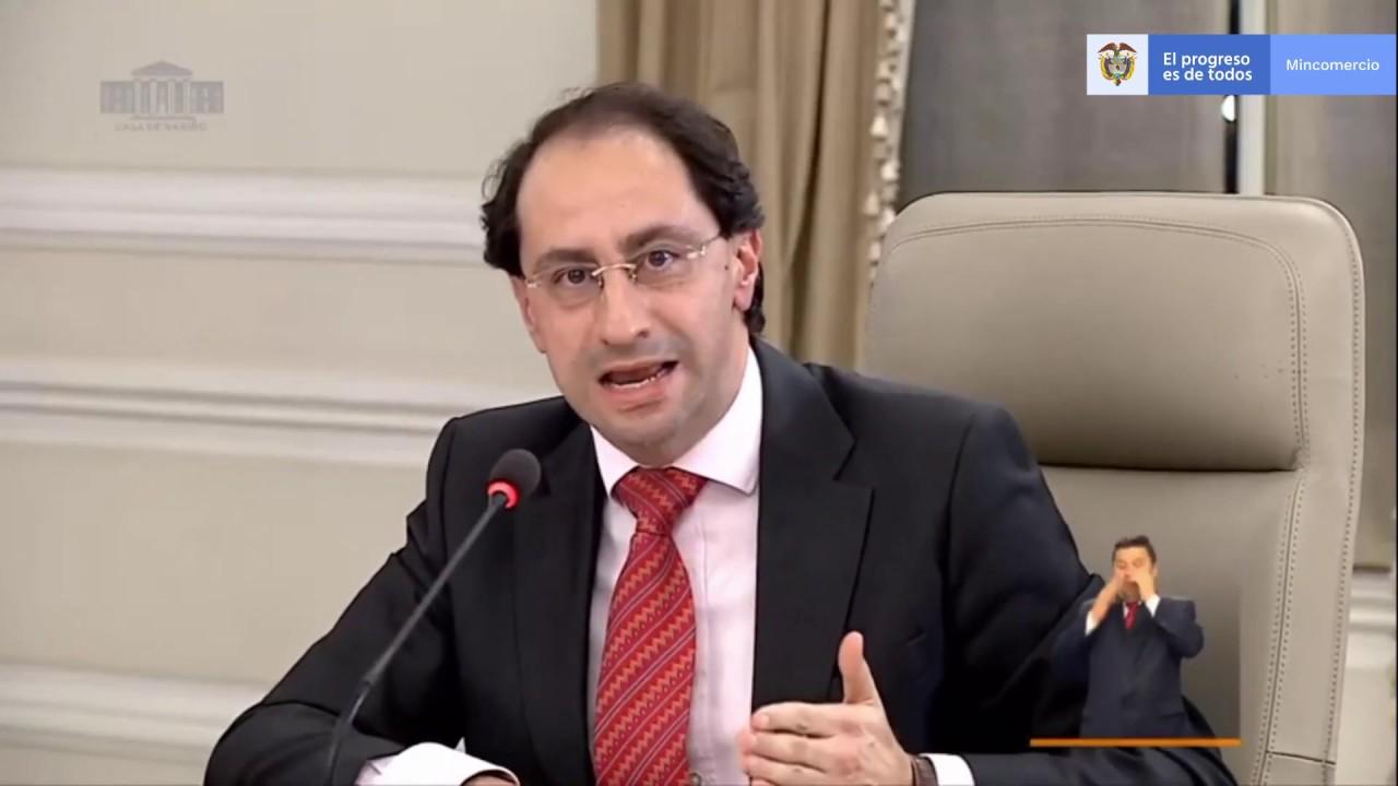 Ministro de Comercio, José Manuel Restrepo, en el programa ...