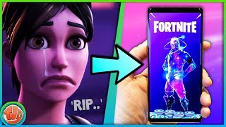 - BAD NEWS - ABOUT GALAXY SKIN!!! -Fortnite: Bataille Royale
