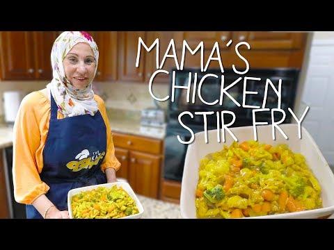 Mamas Chicken Stir Fry Recipe!