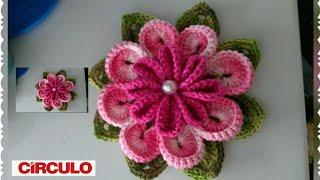 Flor Ternura em Crochê