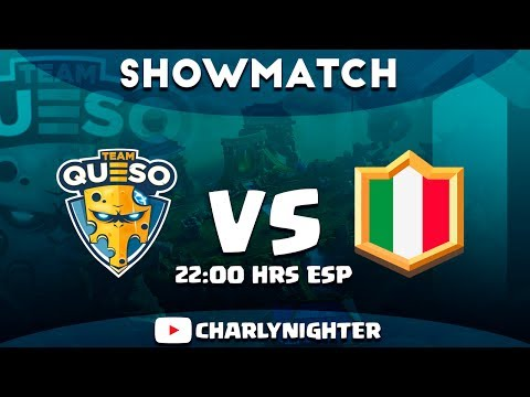 Team Queso vs Italia | Showmatch + Torneo 1000 personas | Con Charlynighter