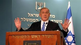 Netanyahu Calls Kerry's Speech Disappointing
