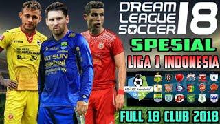 Download Video Download Dream League Soccer 18 mod Gojek Bukalapak Liga 1 Indonesia Full 18 Club 2018 MP3 3GP MP4