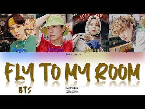 BTS (방탄소년단) - Fly To My Room (내 방을 여행하는 법) Lyrics (Color Coded Han|Rom|Eng)