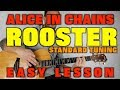 How to play Rooster by Alice In Chains acoustic