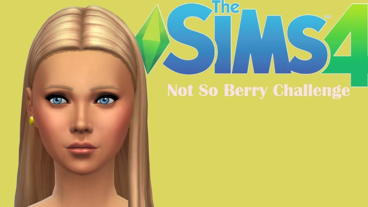 VACATION // THE SIMS 4: NOT SO BERRY CHALLENGE YELLOW PART ...