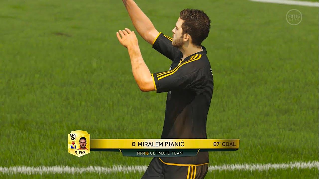 Miralem Pjanic Longshot FIFA 16