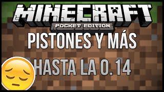 Pistones y más cosas hasta Minecraft Pocket Edition 0.14