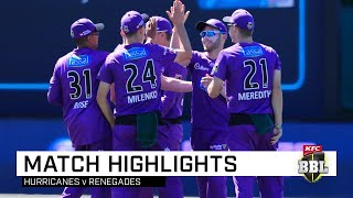 Hurricanes leave defending champs winless on Christmas Eve | KFC BBL|09