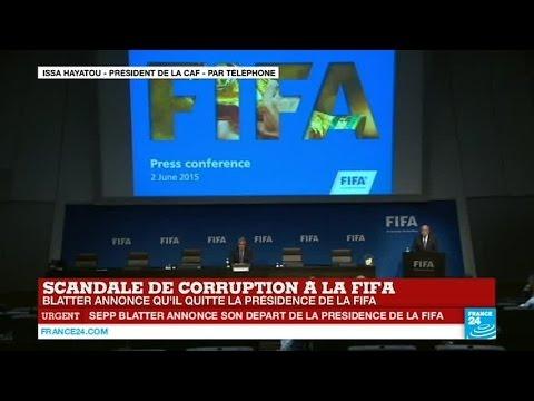 """Issa Hayatou, président de la CAF: """"Sepp Blatter a beaucoup fait pour l'Afrique""""  - FIFA"""