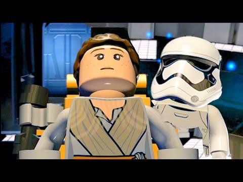 LEGO Star Wars The Force Awakens Part 24 Vita Walkthrough Rey Learns Mind Control & Escapes