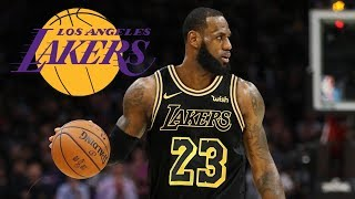 LeBron James Signs With The Lakers   NBA Free Agency 2018