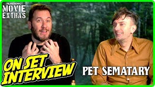 "PET SEMATARY | On-set Interview With Kevin Kölsch & Dennis Widmyer ""Directors"""