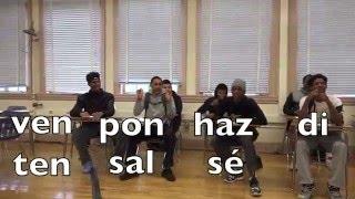 Spanish song for Informal/Affirmative COMMANDS for irregular verbs
