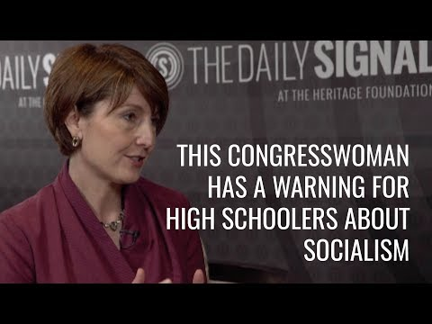 This Congresswoman Has a Warning for High Schoolers About Socialism