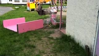 видео демонтаж бетонных конструкций