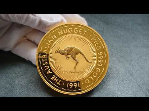 UP CLOSE: The $10,000 1kg Gold Coin