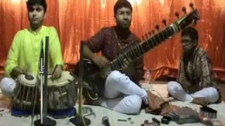 Sitar Recital: Ramprapanna Bhattacharya - Jhala on Darbari Kanada.