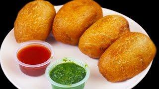 सबसे आसान सबसे क्रिस्पी है ये ब्रेड रोल बनाने का तरीका | Bread Potato Roll Recipe- Easy Indian Snack