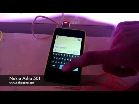 ทดลองเล่น Nokia Asha 501