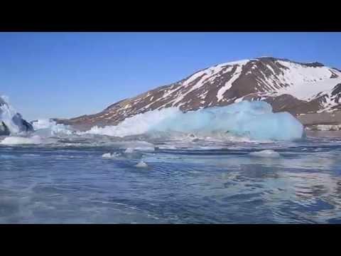 Iceberg Explodes