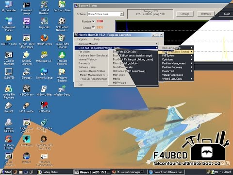 LIVE CD/ FalconFour's Ultimate Boot CD/ boot cd rescue system/ tuto FR