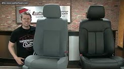2011 Ford F150 SuperCrew Custom Leather Seat Upholstery Kit - LeatherSeats.com