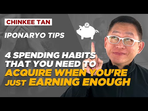 SPENDING TIPS: 4 SPENDING HABITS THAT YOU NEED TO ACQUIRE WHEN YOU'RE JUST EARNING ENOUGH