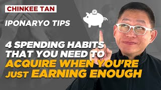 IPONARYO TIPS: 4 Spending Habits That You Need To Acquire When You're Just Earning Enough