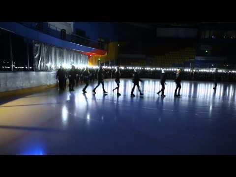 Флешмоб на льду