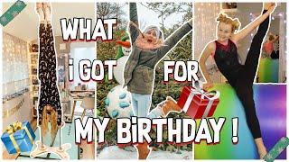 WHAT I GOT FOR MY BIRTHDAY ! MAVIELENDER 16 | MaVie Noelle Family Vlogmas