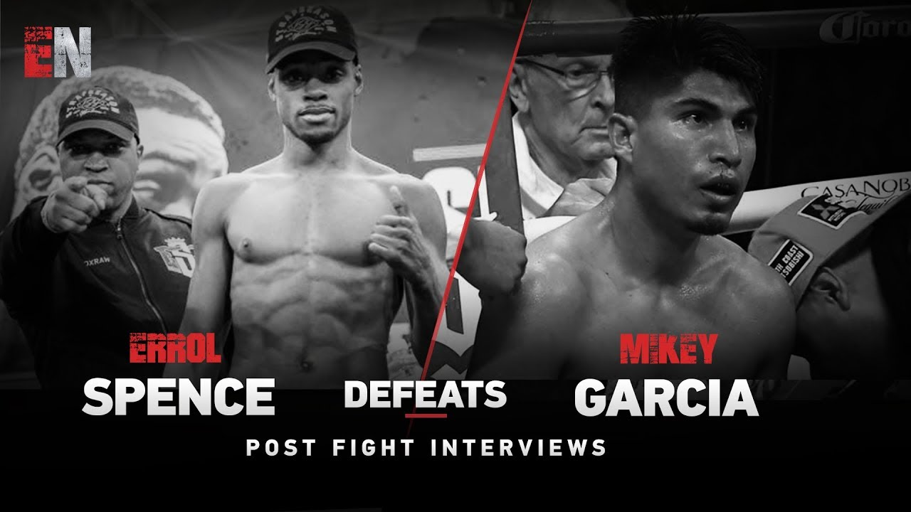 Watch Boxing Star Errol Spence post fight Interview
