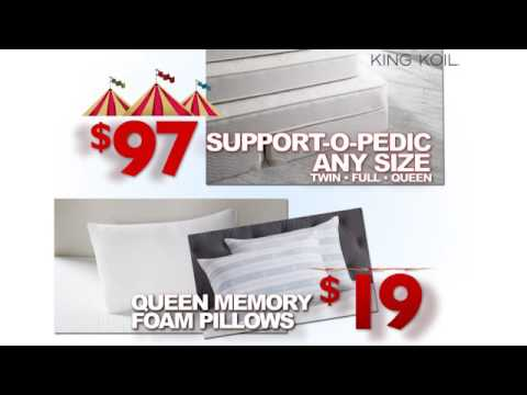 Art Van Furniture Tent Sale Sealy Mattress Sets 299 Youtube