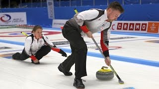 CURLING: CHN-CAN WCF World Mixed Doubles Chp 2016 - Group D
